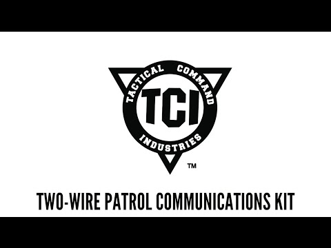 TCI Two Wire Patrol Kit