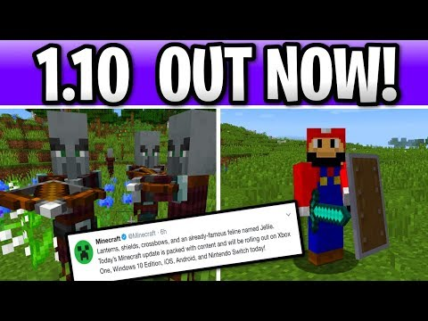 Minecraft 1.10 Out Now! Pillagers, Shields & Crossbow +PS4 Console Update Soon! thumbnail