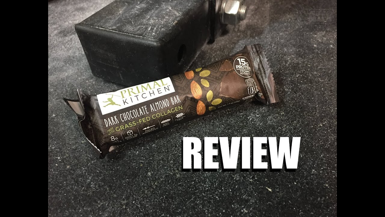 don't feed this awesome primal kitchen collagen bar to a dog