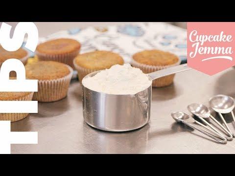 How To Make Your Own Self-Raising Flour | Cupcake Jemma Tips