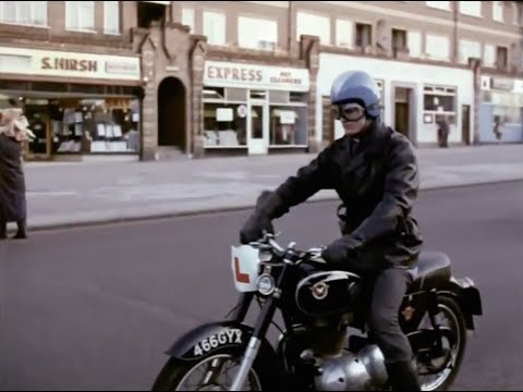 Look, Signal, Manoeuvre (1965) Public Information Film Motorcycle safety