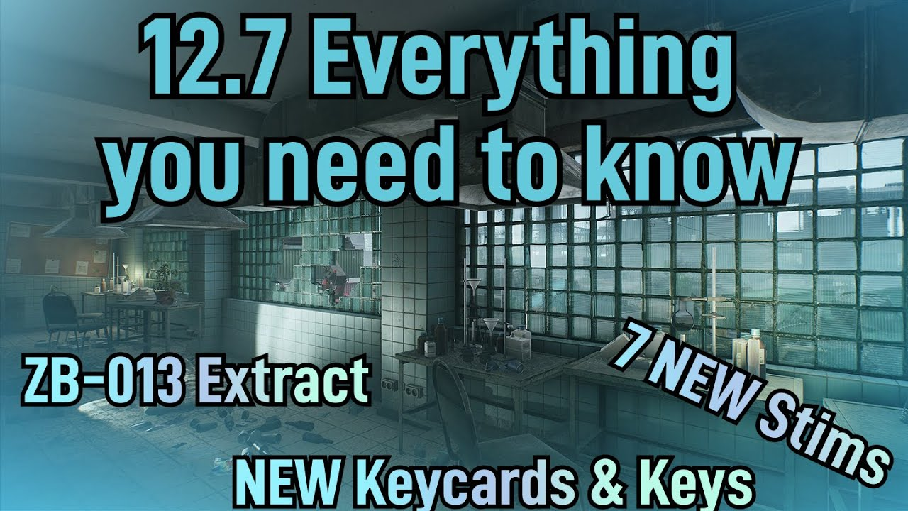 EVERYTHING YOU NEED TO KNOW FOR 12.7 || SANITAR || ESCAPE FROM TARKOV