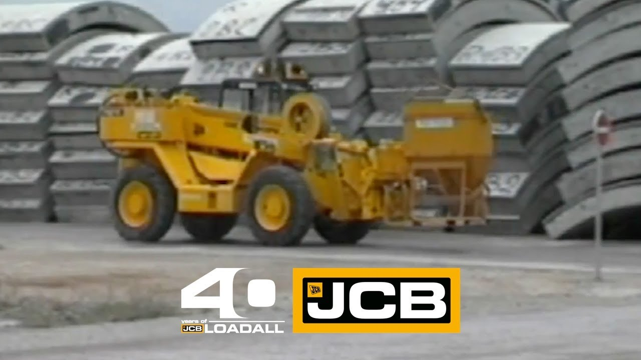 JCB Channel Tunnel Construction - Celebrating 40 Years of Loadall
