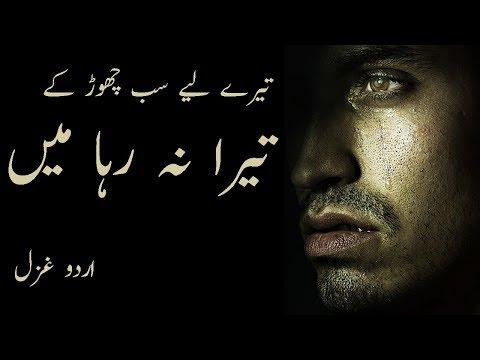 Tera Na Raha Main || Abbas Tabish Sad Poetry || Malik Junaid || Alfaaz-e-Ishq