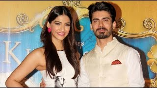 Sonam Kapoor at the trailer launch event of Khoobsurat