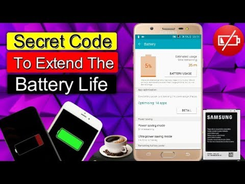 Android Secret Code To Increase Battery Life 2018 - Faisal Mobile