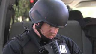 SWAT bust down wrong door