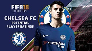 FIFA 18 CHELSEA FC POTETIAL RATINGS!?