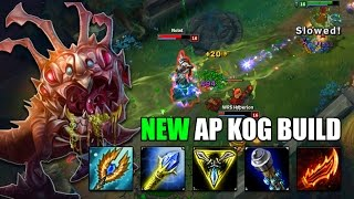 AP KOG'MAW MID IS BACK! NEW OP BUILD? - League of Legends