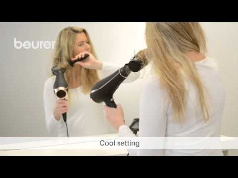 Quick Start Video for the HC 80 hair dryer from Beurer.