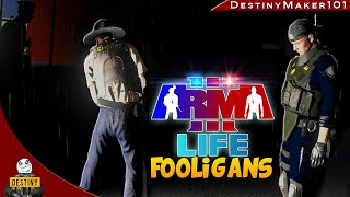 from kidnapping to something better a3l fooligans ep6 arma 3 life funny random moments