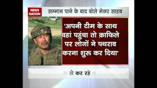 Major Leetul Gogoi: Tied man to jeep to save people's lives from stone-pelters