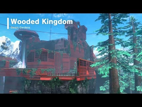 Super Mario Odyssey | Wooded Kingdom - All Power Moons & Bolt Nuts