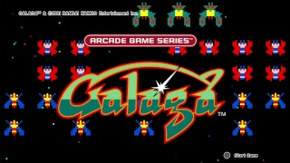 Galaga Live PS4 Broadcast