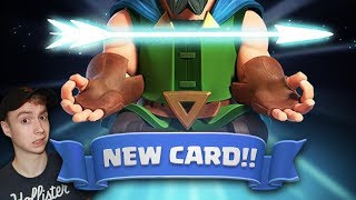 NEW MAGICAL ARCHER?? NEW CARD CONFIRMED! | Clash Royale