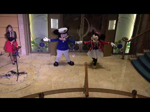 """Captain Mickey and Minnie Mouse Dancing to """"Better When I'm Dancin'"""" by Meghan Trainor"""
