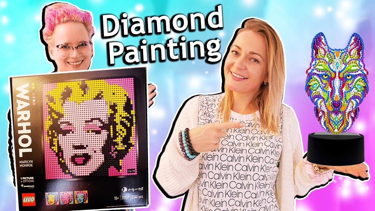 XXXL DIAMOND PAINTING HAUL | mega verrücke Diamond Painting & Zubehör
