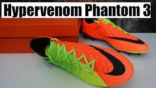 Nike Hypervenom Phantom 3 (Radiation Flare Pack) Review + TEST