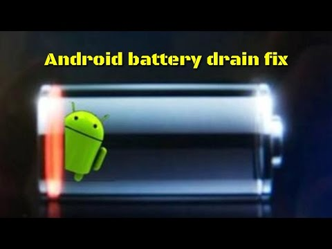How To Fix Android Battery Drain | One Click
