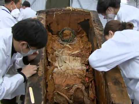1,500-year-old mummy unveiled