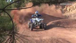 Essai inédit quad yamaha YFZ450R 2014