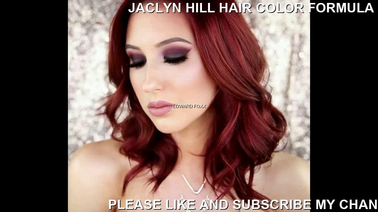 Jaclyn Hill Hair Color Formula Youtube