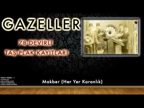Hafız Burhan -  Makber (Her Yer Karanlık) [ 78 Devirli Taş Plak Kayıtları © 1997 Kalan Müzik ]