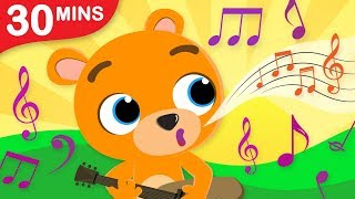 Can You Sing Like a Bear? | Where Are My Panda Spots? Fun Kids Songs Compilation by Little Angel.