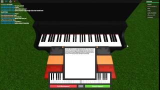 Sword Art Online - Crossing Field on a ROBLOX piano. thumbnail