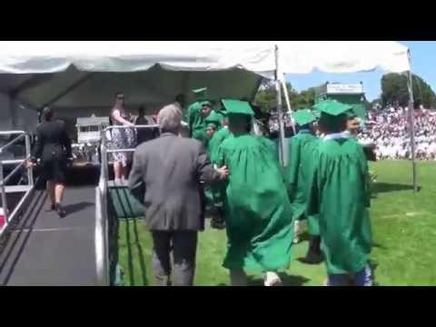 Tavian Maldonado - Brentwood HIgh School Graduation 2016