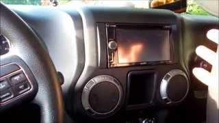 How To Install A Subwoofer And Amplifier In A Jeep Wrangler Sport 2013