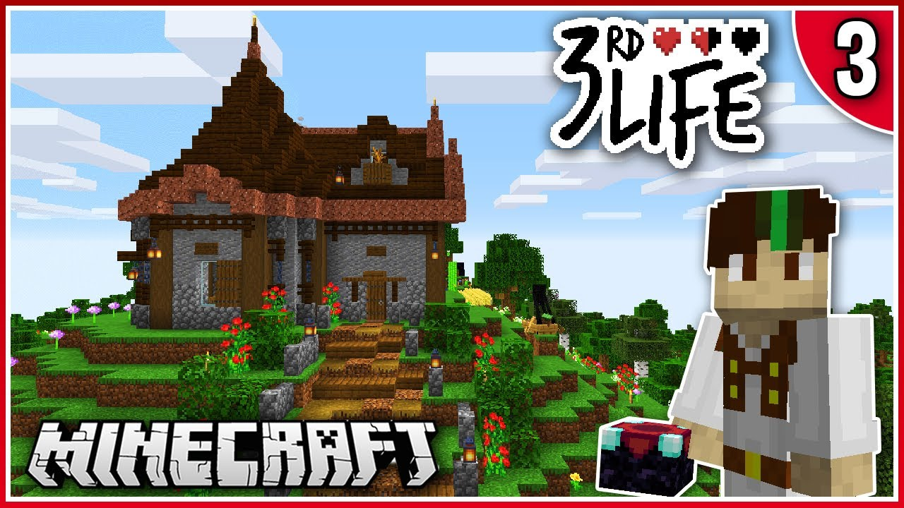 Building My Base! | 3rd Life | Ep.3