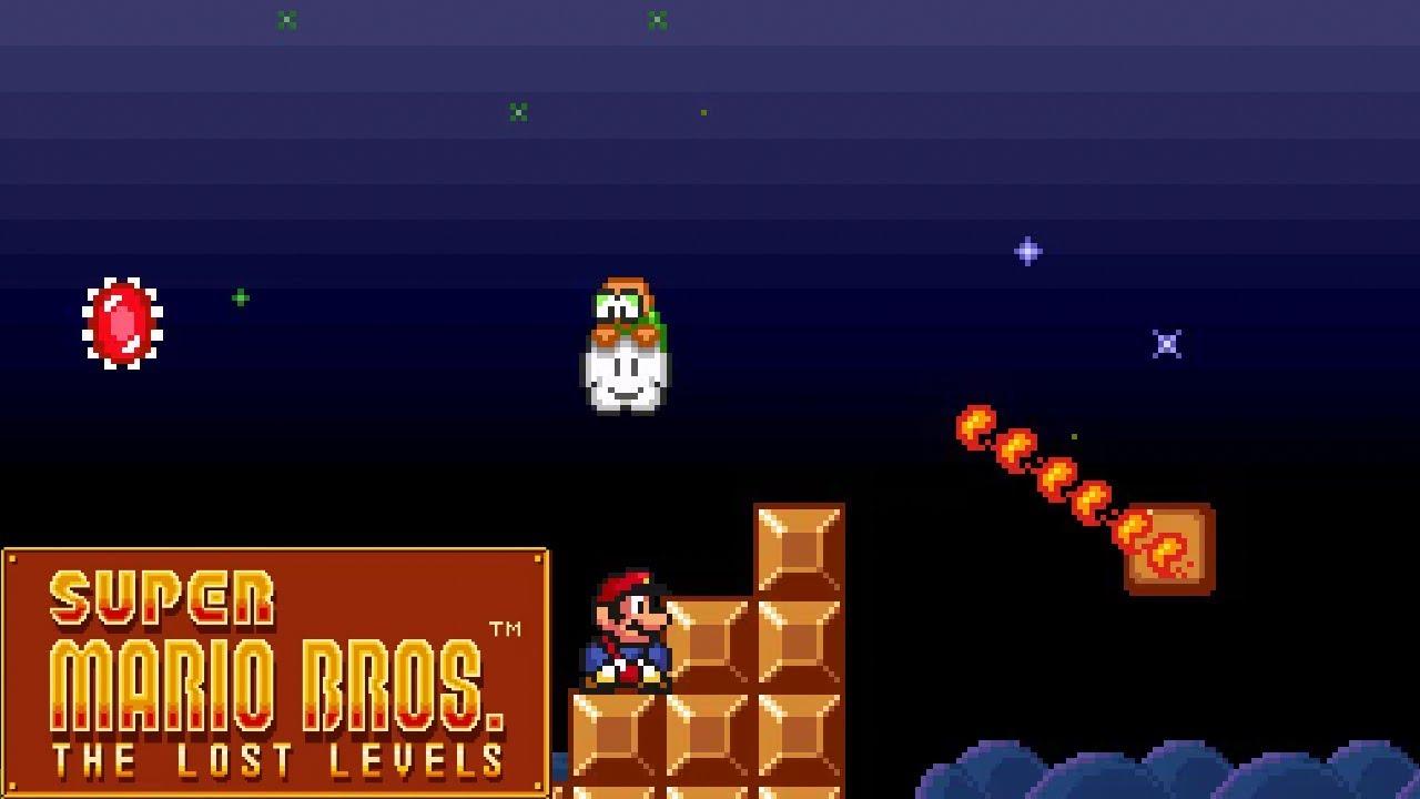 Super Mario Bros The Lost Levels - 5 - Façam suas apostas! (não)