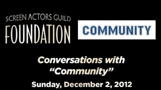 Conversations with Joel McHale and Cast of COMMUNITY