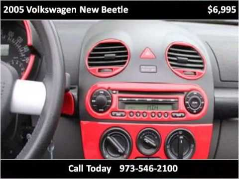 2005 Volkswagen New Beetle Used Cars Clifton NJ