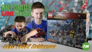 Lego 76057 review: Spider-Man Web Warriors Ultimate Bridge Battle - time-lapse build and play