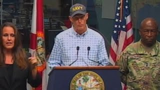 Florida Gov. Rick Scott warns residents about Tropical Storm Michael