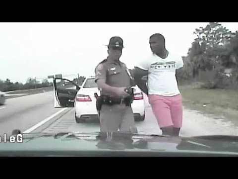 Yasiel Puig -- HANDCUFFED IN PINK SHORTS ... Officer FURIOUS During Speeding Arrest