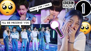 BTS I'll Be Missing You Cover (Puff Daddy, Faith Evans and Sting) BBC Radio 1 Live Lounge REACTION