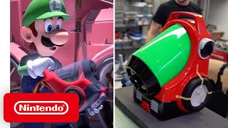 Download Luigi's Mansion 3 - Behind the Poltergust G-00 with Volpin Props Mp3 and Videos