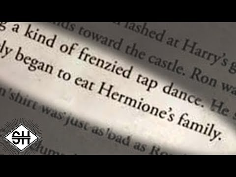 Harry Potter except it's written by an AI