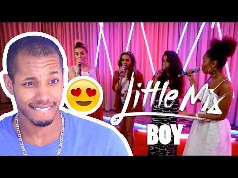 LITTLE MIX - BOY ACAPELLA LIVE REACTION