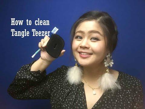 How to clean Tangle Teezer