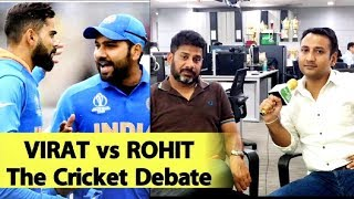 The Cricket Debate: Virat vs Rohit Rift Out in Open | Sports Tak | Vikrant Gupta