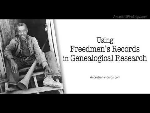 Using Freedmen's Records in Genealogical Research   Genealogy Gold Podcast   AF-260