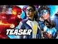 The Flash Season 4 Iris West Flash Episode Teaser and Nightwing Titans Update