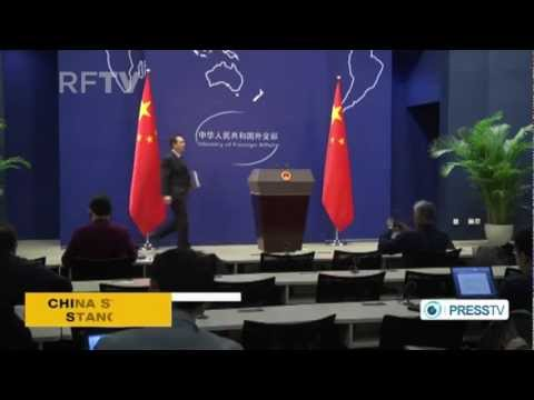 Syria: China calling for peacefull solution