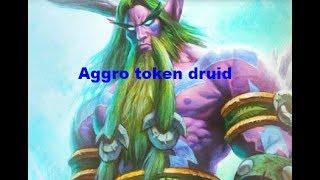 Hearthstone Aggro token druid.Kobolds And Catacombs.