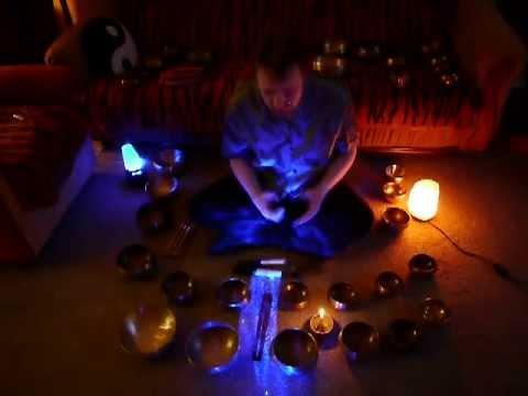 Поющие чаши в йоге