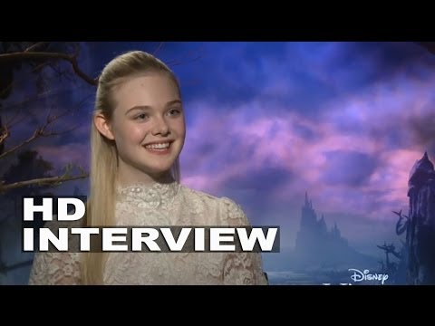 "Maleficent: Elle Fanning ""Aurora"" Official Movie Interview"